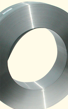 Coil steel for band saw blade
